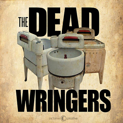 Digital Art - The Dead Wringers Poster by Tim Nyberg