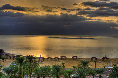 Photograph - The Dead Sea by Don Wolf