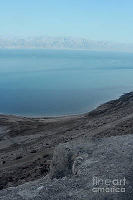 Photograph - The Dead Sea - Looking At Jordan by Doc Braham