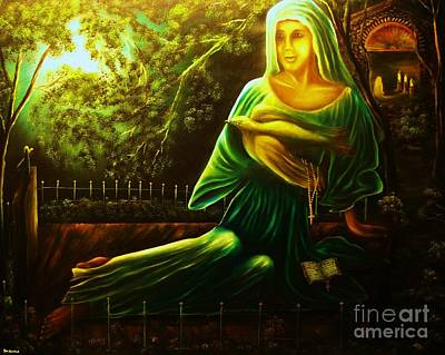 Painting - The Death Of Ruth- Private Art Collection-buy Giclee Print Nr 33 Of Limited Edition Of 40 Prints by Eddie Michael Beck