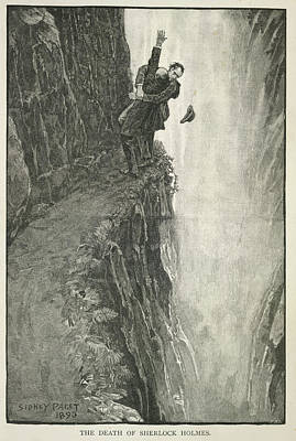 Sherlock Holmes Photograph - The Death Of Sherlock Holmes by British Library