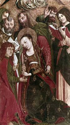 The Death Of The Virgin Art Print