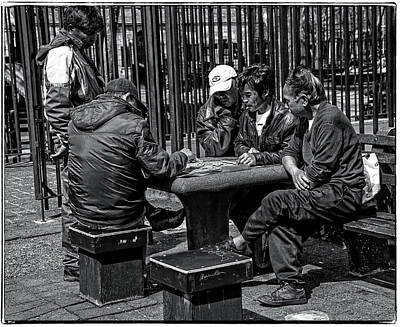 China Town Photograph - The Decisive Move by Madeline Ellis