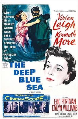 The Deep Blue Sea, Us Poster, Vivien Art Print