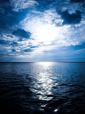 Jamaican Sunset Photograph - The Deep Blue by Todd Reese