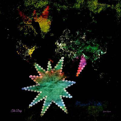 Digital Art - The Deep by Gunter Nezhoda