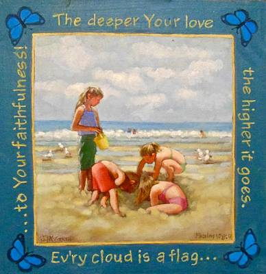 Painting - The Deeper Your Love by Janet McGrath