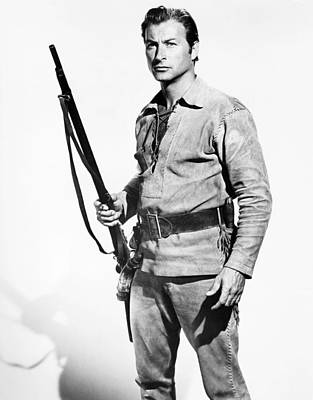1957 Movies Photograph - The Deerslayer, Lex Barker, 1957, �20th by Everett