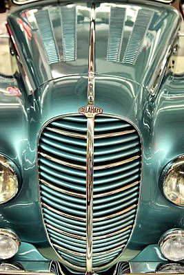 Photograph - The Delahaye by Brian Davis