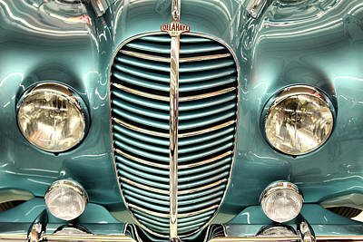 Photograph - The Delahaye II by Brian Davis