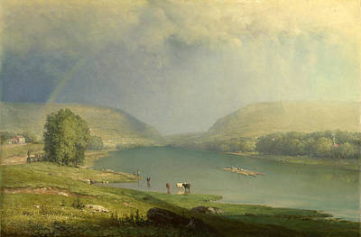 The Delaware Water Gap Art Print by George Inness