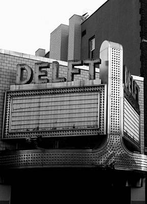 Photograph - The Delft Marquette Mi by Michelle Calkins