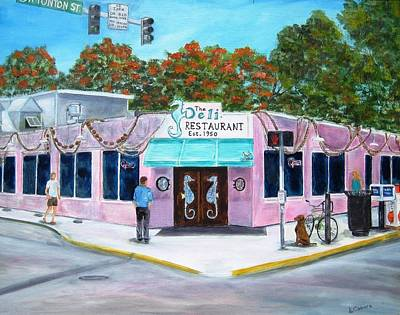 Painting - The Deli by Linda Cabrera