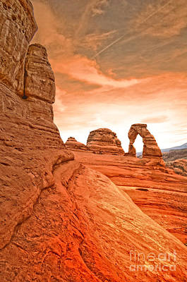 Photograph - The Delicate Arch by Tara Turner