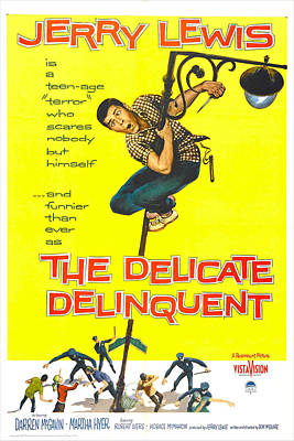 The Delicate Delinquent, Us Poster Art Print by Everett