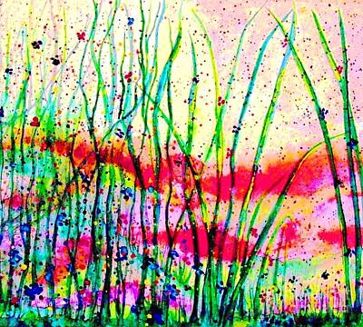 Painting - The Delights Of Springtime by Hazel Holland
