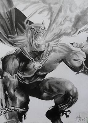 Drawing - The Demon by Luis Carlos A