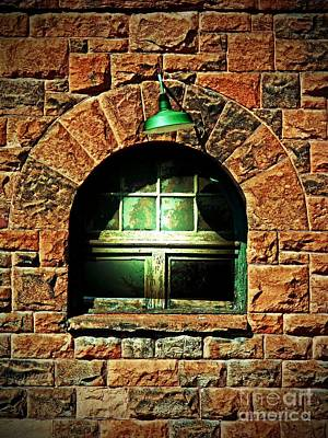 Photograph - The Depot Window by Desiree Paquette