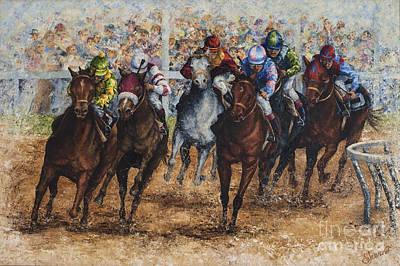 The Derby Art Print