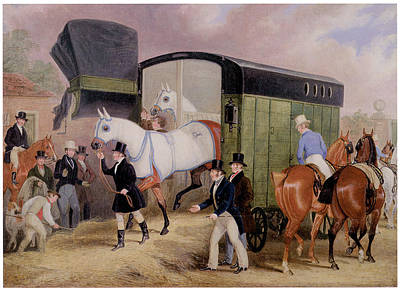 Horse Racing Painting - The Derby Pets by James Pollard