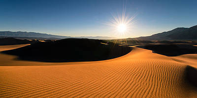 Photograph - The Desert Sun by Dan Mihai
