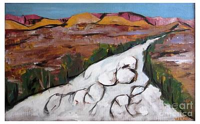 Painting - The Desert Wash by Joseph Wetzel