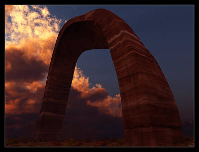 Digital Art - The Devil's Arch... by Tim Fillingim