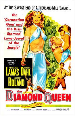 The Diamond Queen, Us Poster, From Left Art Print