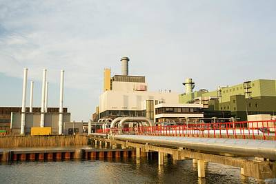 Almere Photograph - The Diemen Combined Heat And Power Plant by Ashley Cooper
