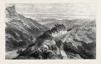 The Disaster On The Great Indian Peninsula Railway Art Print by Indian School