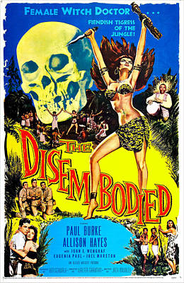 The Disembodied, Us Poster, Bottom Left Art Print