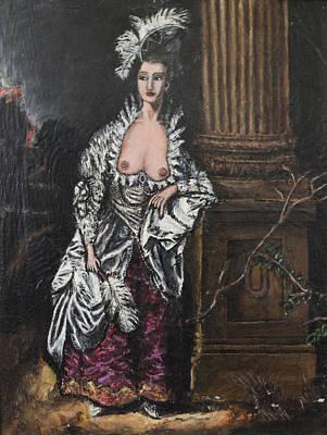 The Dishonorable Mrs. Graham Art Print by Christopher Winkler