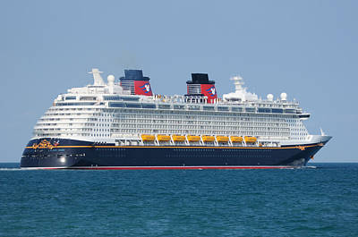 Photograph - The Disney Dream by Bradford Martin