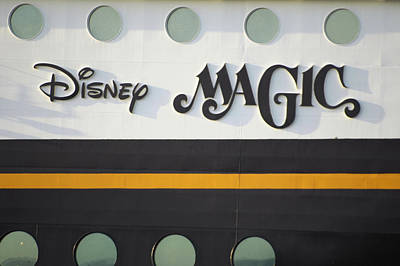 Photograph - The Disney Magic Portholes by Bradford Martin