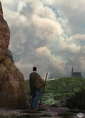 Stocktrek Images - The Distant Chapel by Daniel Eskridge
