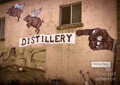 The Distillery Art Print by Janice Rae Pariza