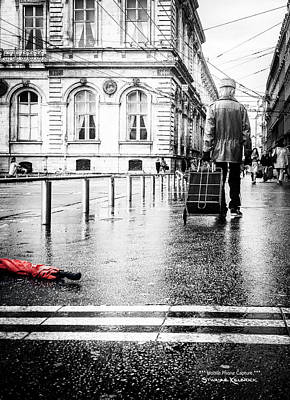 Photograph - The Distracted Vagabond by Stwayne Keubrick