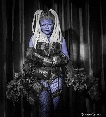 Stellar Interstellar - The Diva Blue by Stwayne Keubrick