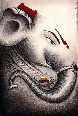 Painting - The Divine by Art Tantra