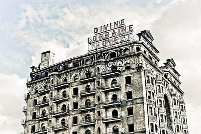 Photograph - The Divine Lorraine by Stacey Granger