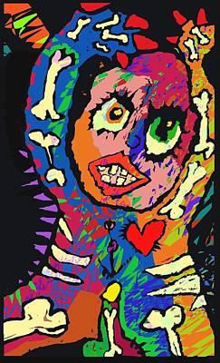 The Djinn. Art Print by Brett Sixtysix
