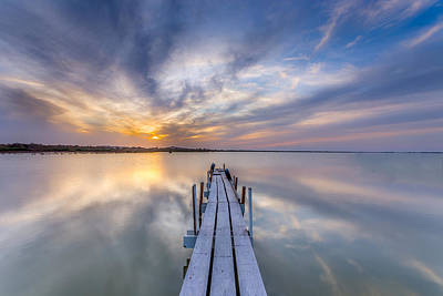 Photograph - The Dock II by Peter Tellone