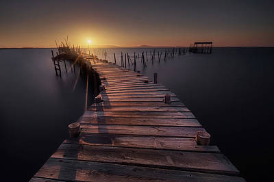 Portugal Photograph - The Dock by Iv?n Ferrero