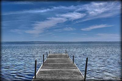 Photograph - The Dock by Michaela Preston