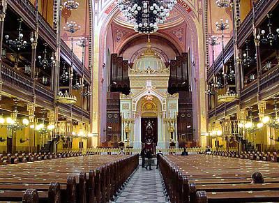 The Dohany Street Synagogue Budapest Original by Ira Shander