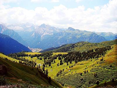 Italy Photograph - The Dolomites by Zinvolle Art