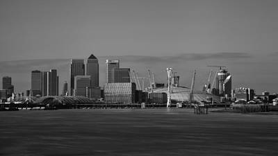 Canary Wall Art - Photograph - The Dome And The Wharf by Nigel Jones