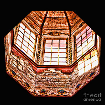Photograph - The Dome At Mission San Luis Rey De Francia By Diana Sainz by Diana Raquel Sainz