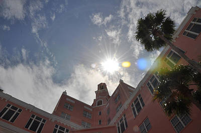 St. Pete Beach Photograph - The Don Cesear Hotel by Bill Cannon