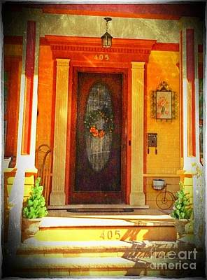 Photograph - The Door 1 by Becky Lupe